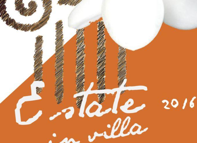 capannori – AL VIA 'ESTATE IN VILLA' IN NOVE DIMORE STORICHE DEL TERRITORIO: