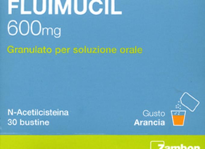 """Ritirato lotto a scopo precauzionale specialita' medicinale """"FLUIMUCIL""""."""