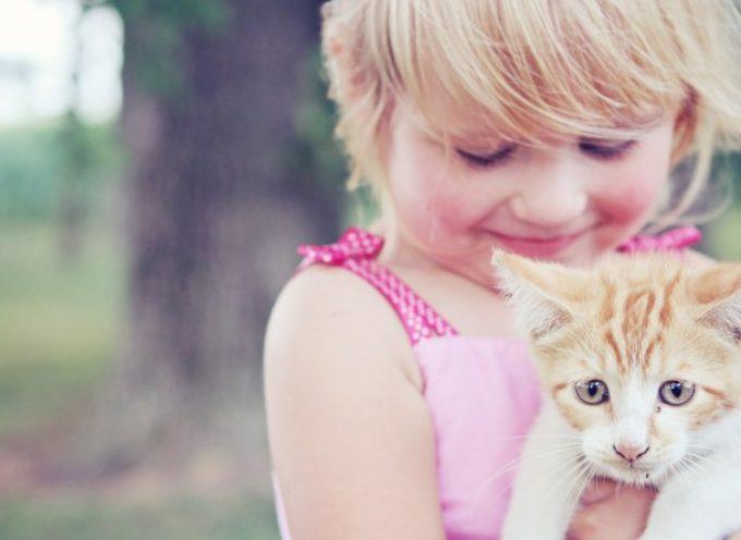 Come insegnare ai Vostri Figli ad Amare gli Animali
