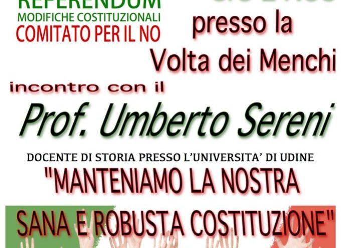 COMITATO PER IL NO, AL REFERENDUM DELLE MODIFICHE COSTITUZIONALI, A BARGA VENERDI 8 LUGLIO