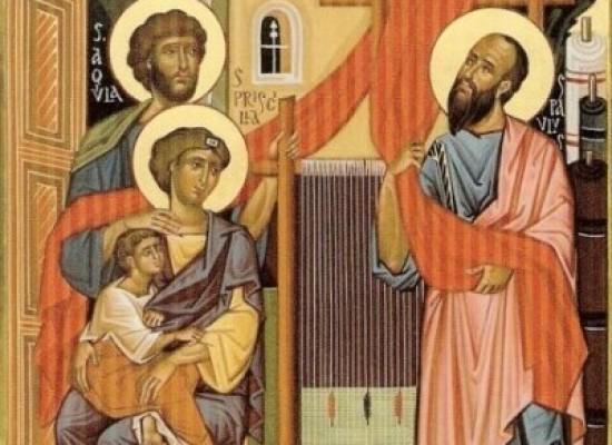 il santo del giorno, 8 LUGLIO   santi AQUILA E PRISCILLA