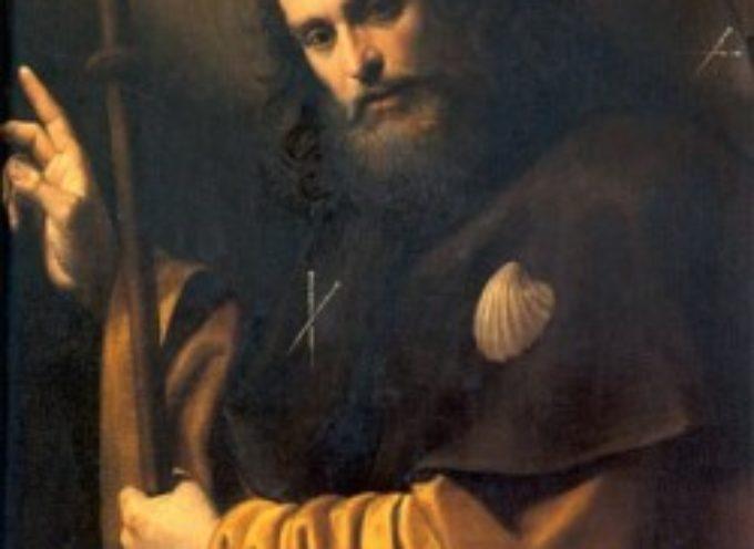 il santo del giorno, 25 luglio SAN GIACOMO APOSTOLO