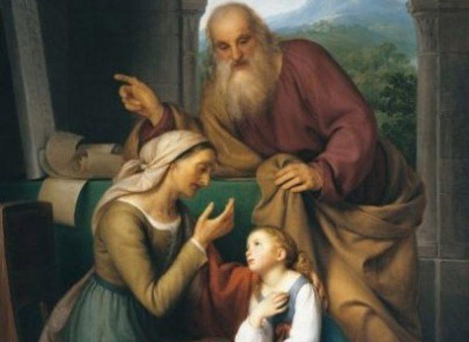 il santo del giorno, 26 luglio santi ANNA E GIOACCHINO