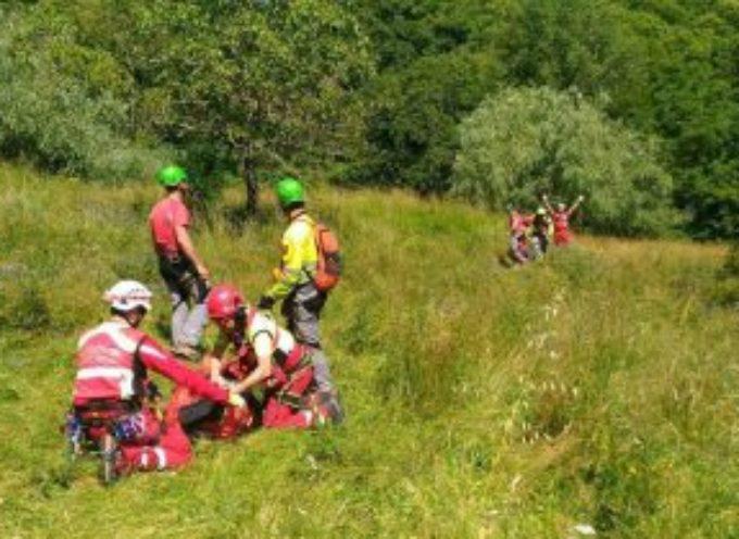 Cade in una scarpata, 55enne di Lupinaia recuperata dal Soccorso Alpino