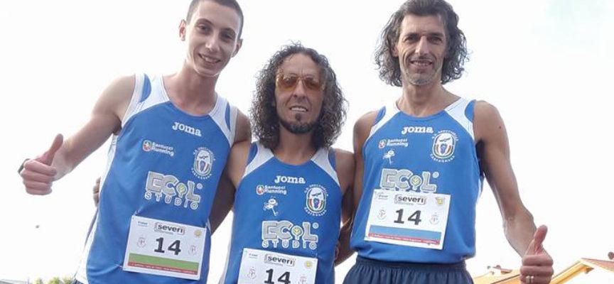 Mazzei, Luongo, Cacciaguerra staffetta di bronzo per il GS Orecchiella.  Bendoni terzo ad Empoli