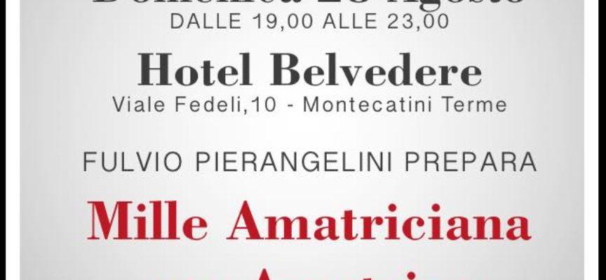 I vini di Montecarlo per l'amatriciana   stasera a montecatini terme