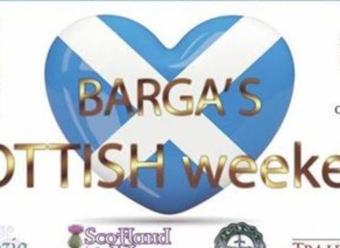BARGA'S SCOTTISH WEEKEND