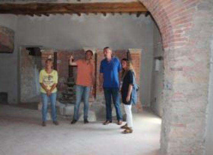 CAPANNORI –  Al via lavori di ristrutturazione all'ex frantoio di Castelvecchio di Compito.