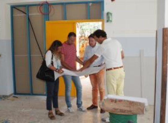 Vanno avanti secondo i tempi stabiliti i lavori in corso alla scuola primaria di Marlia