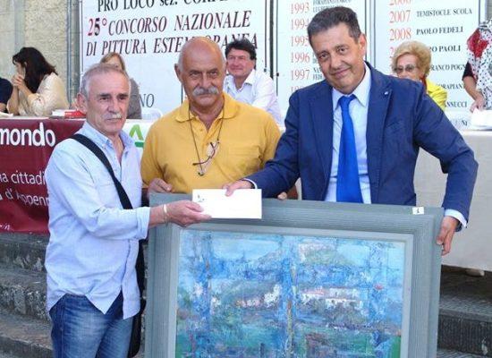 Vincitori Pittura estemporanea XXV edizione