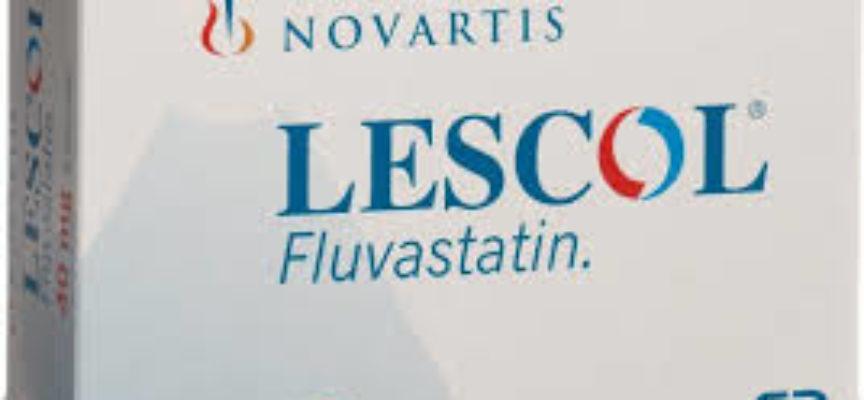 """Ritiro volontario lotto specialita' medicinale """" LESCOL """" impiegato nella terapia dietetica."""