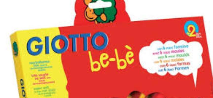 """""""Rischio soffocamento"""", FILA S.p.A. richiama Giotto bebè confezione 3 barattolini e accessori"""