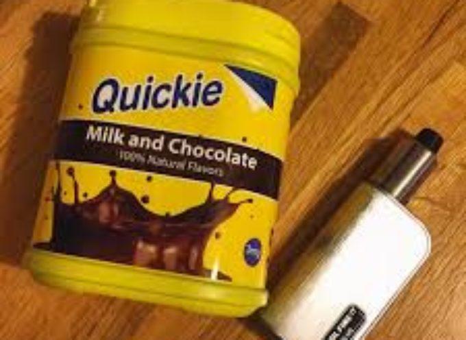 """Rapex segnala ritiro di """"Milk and Chocolate"""" della Quickie per non conformità"""