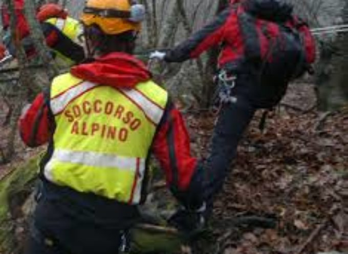 Soccorso Alpino salva biker in difficoltà sul  Monte Gabberi