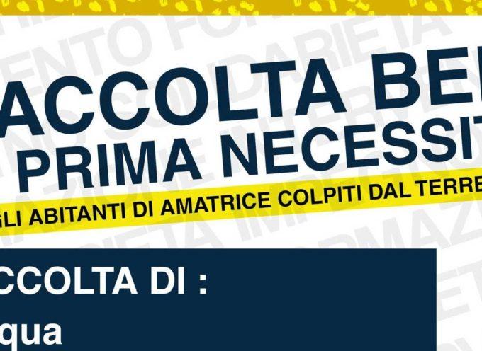 Terremoto nel Centro Italia: da domani all'Artiglio si raccolgono beni di prima necessità.
