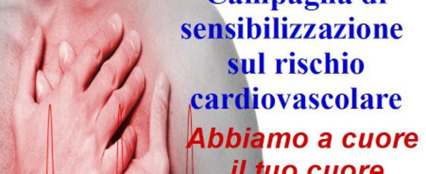 Campagna di sensibilizzazione sul rischio cardiovascolare