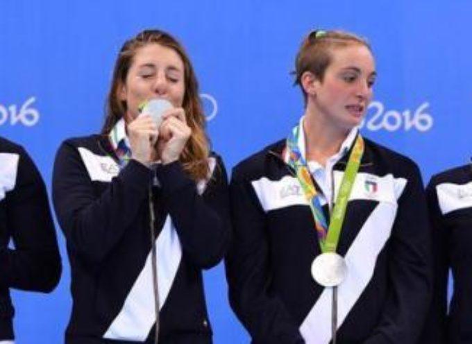 """RIO 2016 – """"EA7"""" perché c'è il 7 sulla divisa delle Olimpiadi? Claudia Mori: """"Sul podio vinceva lo sponsor"""""""