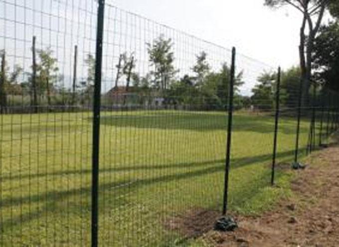Il campo da calcetto di 'Casa Gori' a Marlia diventa regolamentare