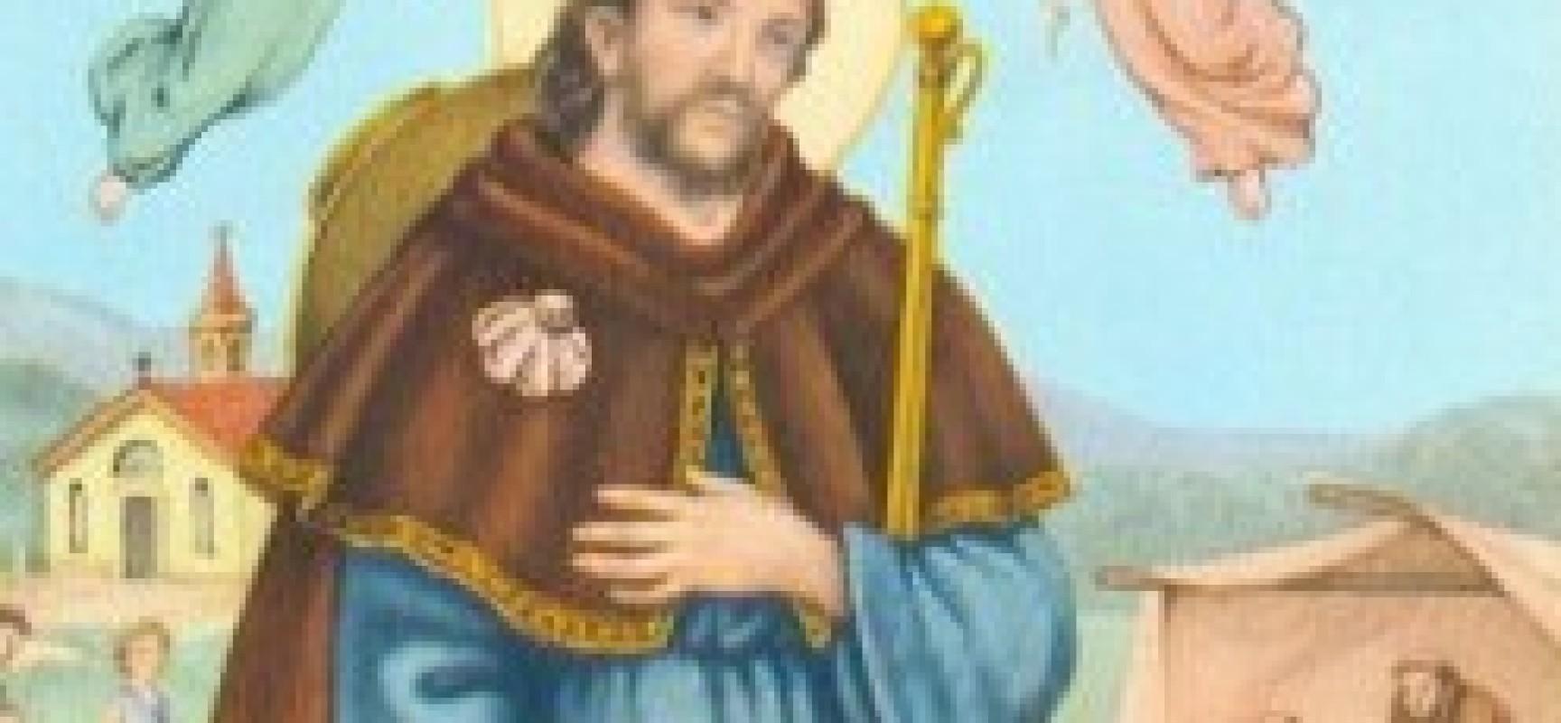 Il Santo Del Giorno  Agosto San Rocco