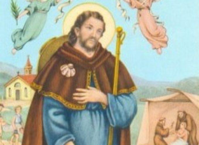 il santo del giorno, 16 agosto San Rocco