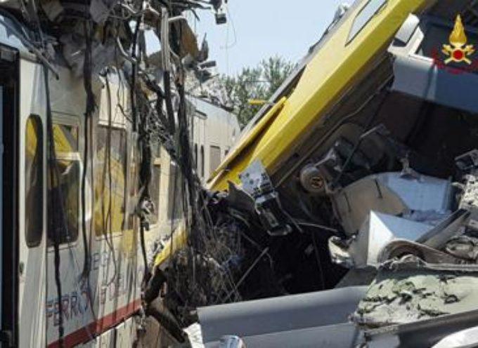 """puglia – Scontro treni, procuratore: """"I macchinisti non si sono visti, nessun segno frenata"""""""