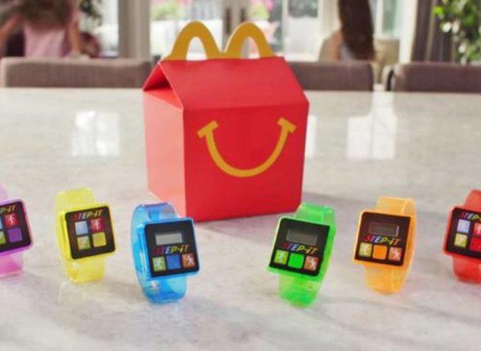 Step It, il bracciale di McDonald's è pericoloso. McDonald's lo ritira dal mercato dopo un solo giorno