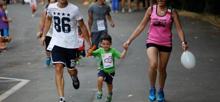 Staffetta Torrite Family Run, l'Olimpiade del Sorriso