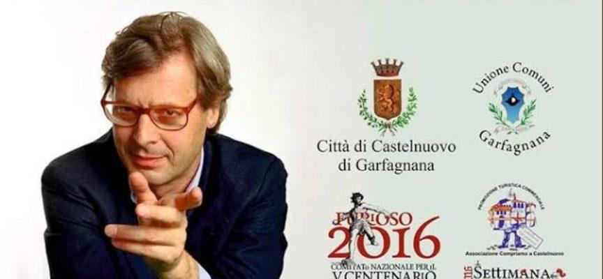 Castelnuovo di Garfagnana: arriva Vittorio Sgarbi
