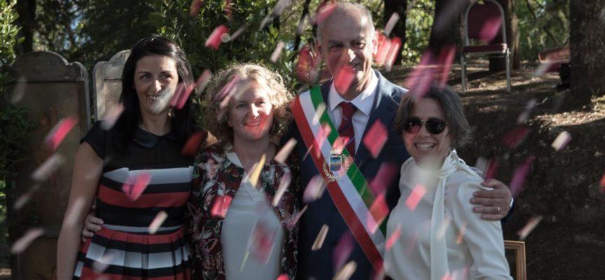 IL 14 AGOSTO E' STATA CELEBRATA AL CIOCCO , LA PRIMA UNIONE CIVILE DELLA PROVINCIA DI LUCCA