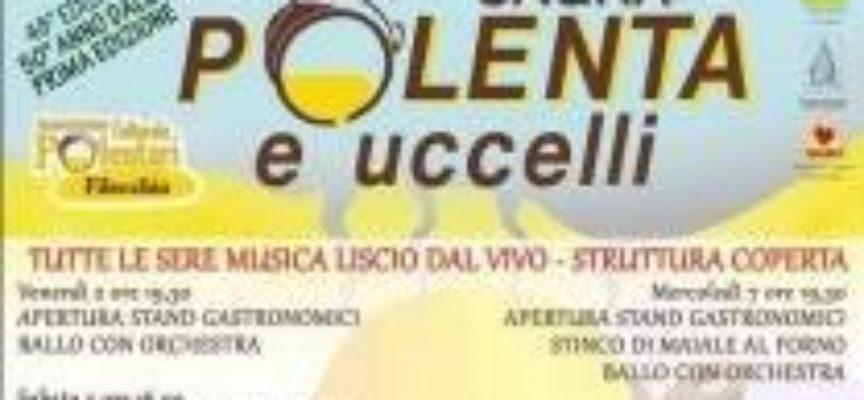 Sagra della POLENTA E UCCELLI a FILECCHIO,   BARGA