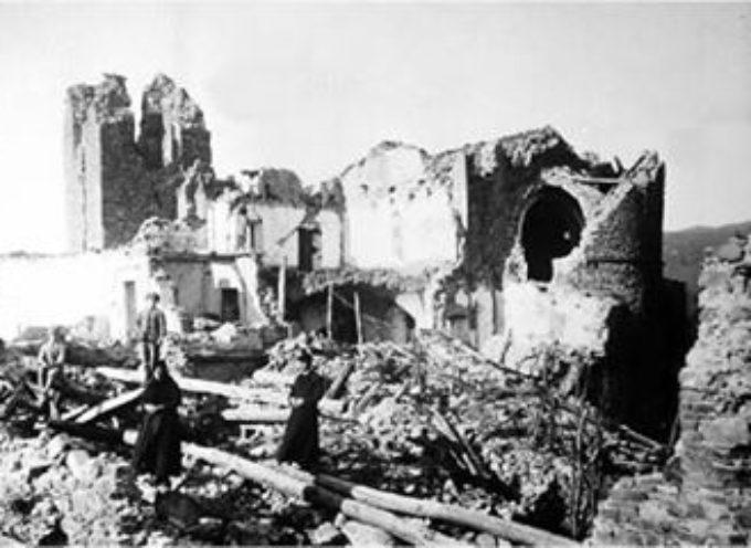 7 SETTEMBRE 1920  TERREMOTO IN VALLE