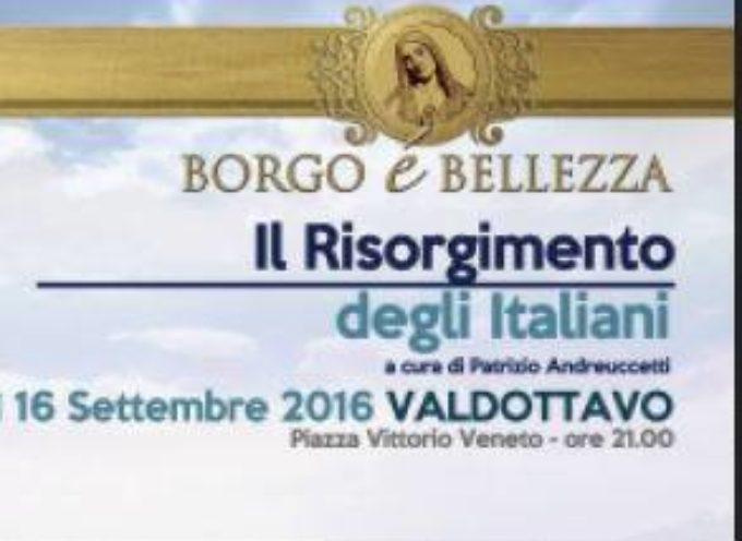IL RISORGIMENTO degli italiani  A Valdottavo