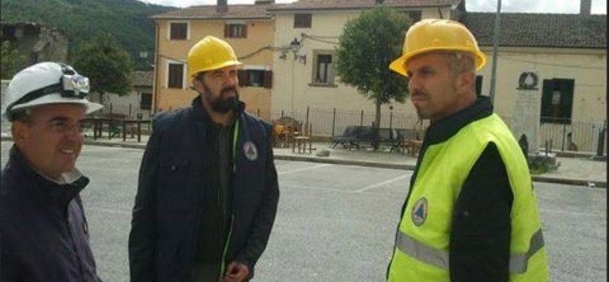 Delegazione dei Sindaci della MEDIAVALLEDELSERCHIO, nelle zone colpite dal terremoto