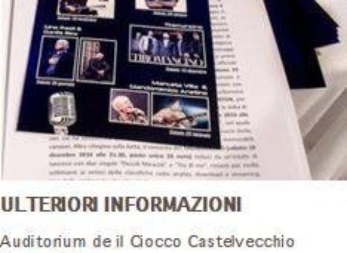 UNPLUGGED FESTIVAL D'AUTORE  AL CIOCCO  BARGA