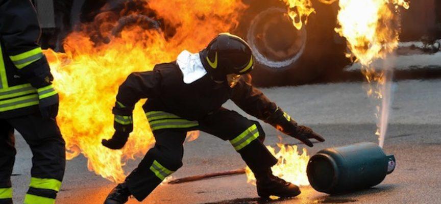 borgo a mozzano –  fuga di gas, poi l'incendio