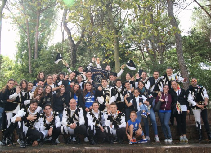 Musici e Sbandiaratori di Gallicano ai Campionati Italiani LIS a Chianciano
