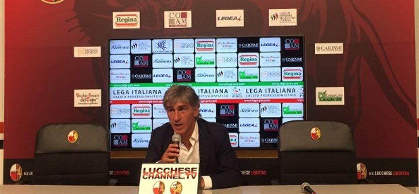 Galderisi post Lucchese-Arezzo 2  a 2 risultato finale
