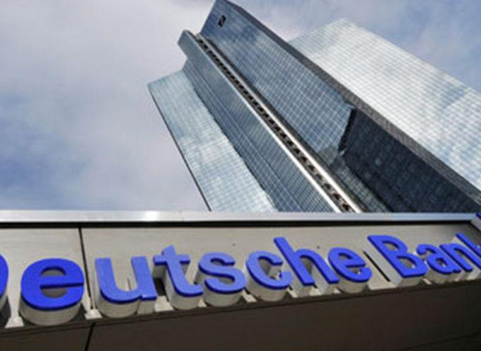 UNA BOMBA TEDESCA SULL'EURO – Deutsche Banca crolla in borsa ed è panico in Europa