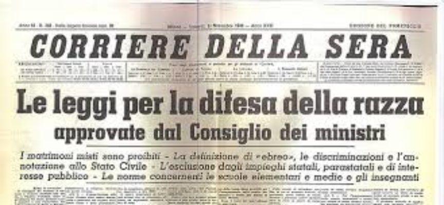Accadde oggi, 18 Settembre 1938, il via in Italia alle famigerate leggi sulla razza