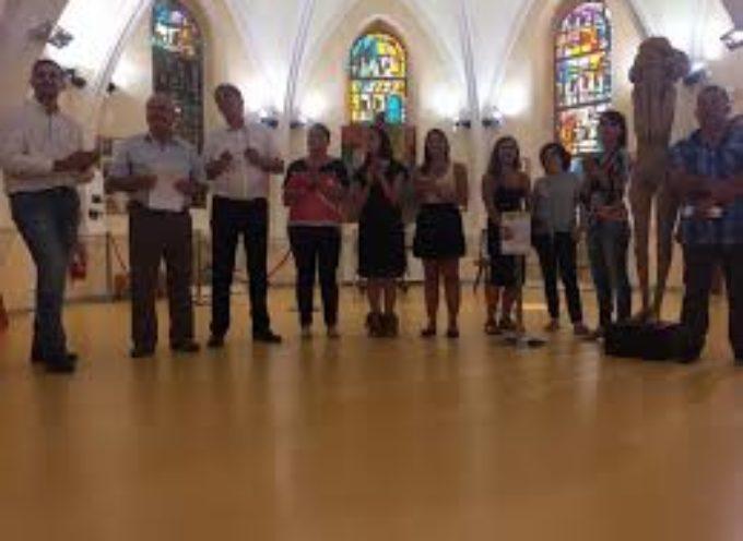 Gemellaggio Porcari Carmaux settembre 2016 – mostra d'arte contemporanea