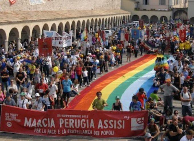 MARCIA PACE PERUGIA-ASSISI del 9 ottobre: dalla provincia di Lucca partono 7 pullman.