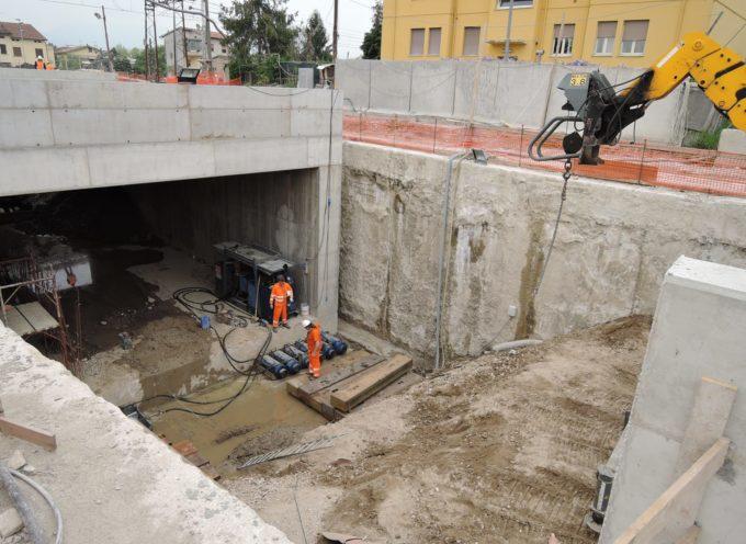 Sottopasso via Ingrillini, apertura prevista entro quattro mesi