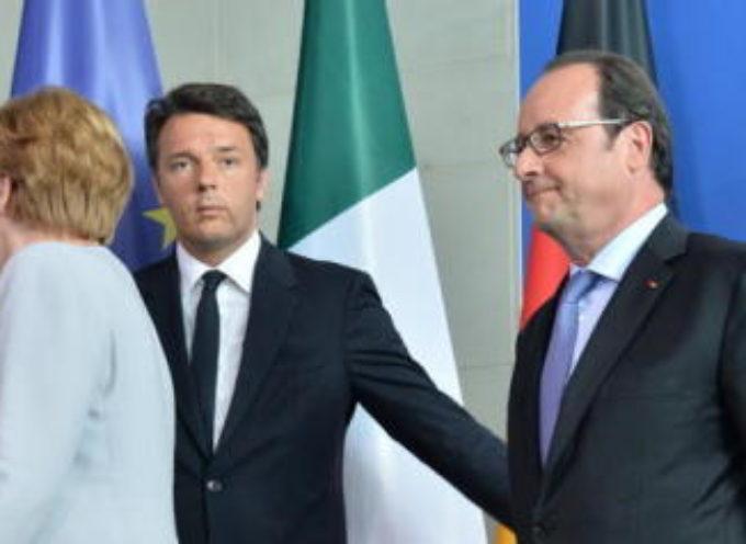 """Matteo Renzi attacco all'Europa: """"Se pensano di intimorirmi sbagliano"""""""