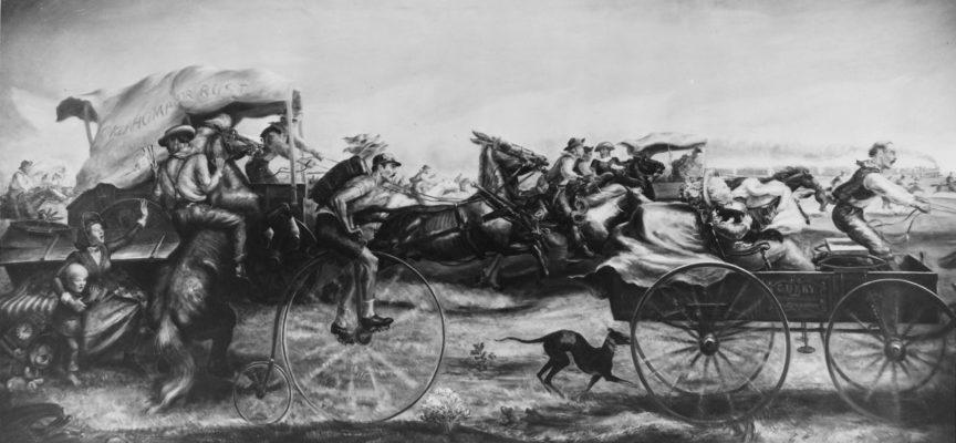 Accadde oggi, 16 Settembre 1893: Corsa alla terra dell'Oklahoma, i coloni corrono in gara per accaparrarsi la terra migliore del Cherokee Outlet!