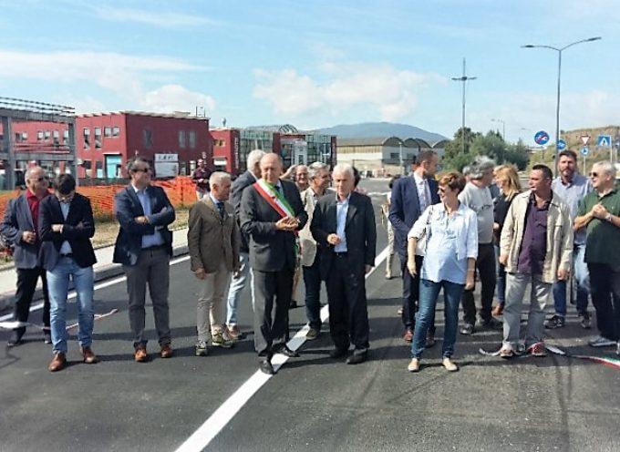 Viabilità, inaugurata la nuova strada di collegamento tra il San Luca e la via Romana