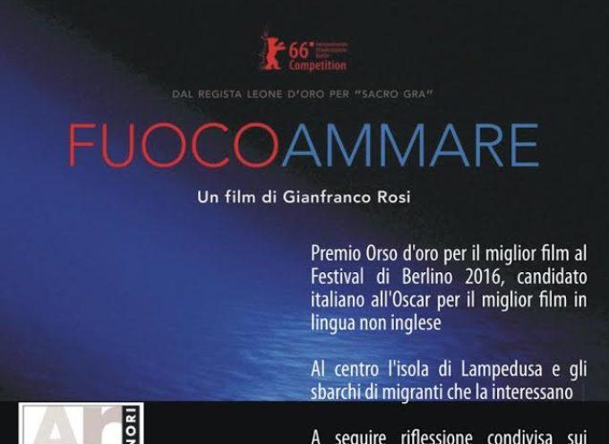 CAPANNORI – LUNEDI' 3 OTTOBRE AD ARTE' LA PROIEZIONE DEL FILM 'FUOCOAMMARE' DI GIANFRANCO ROSI