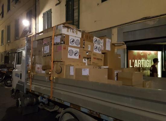 Sisma in Centro Italia. Parte domani mattina il carico di aiuti raccolto da La Salamandra a Lucca e in Versilia.