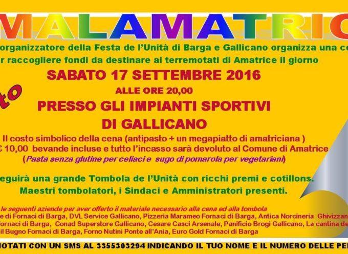 Per le popolazioni del Lazio e delle Marche