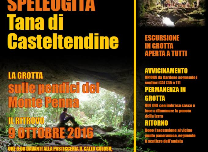 IL CAI DI CASTELNUOVO DI GARF. ORGANIZZA UNA SPEOLOGITA..