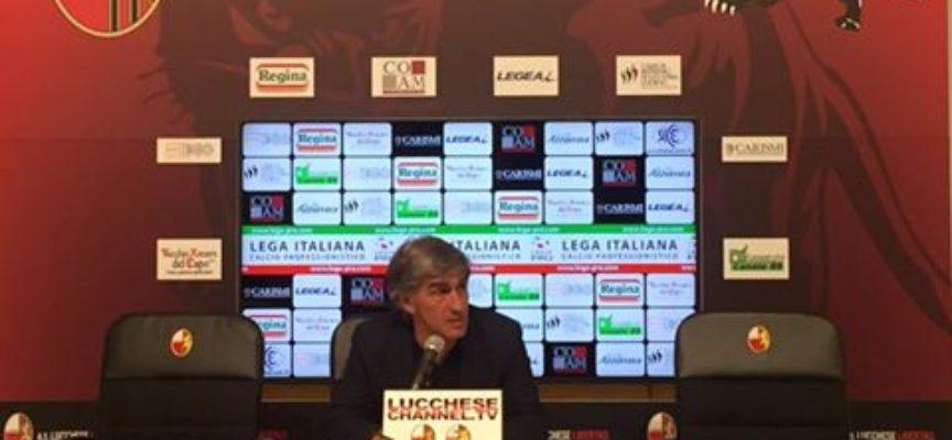 Lucchese-Lupa Roma 4-0 e intervista al mister Galderisi